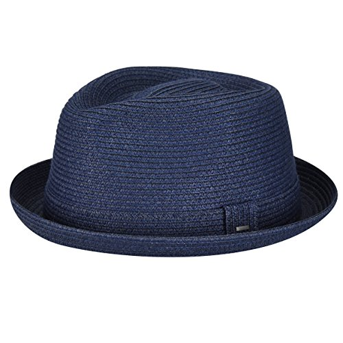 Bailey of Hollywood Men, Women Billy Braided Trilby Navy ()