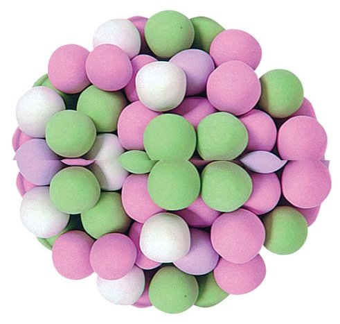 (Jelly Belly Chocolate Dutch Mints, Assorted Pastel Colors, 10-Pound Box )