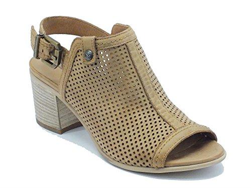 Nero Giardini P615661D Nepal Cuoio - Sandalias de vestir de Piel para mujer Cuoio