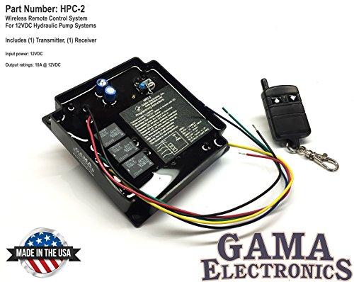 Pump Hydraulic Control (RF Remote Control 12 VDC for hydraulic pump applications)