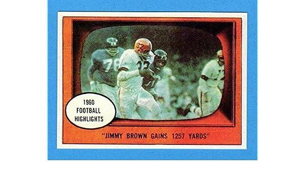 Jim Brown Highlights >> Jim Brown 1961 Football 1960 Football Highlights Browm