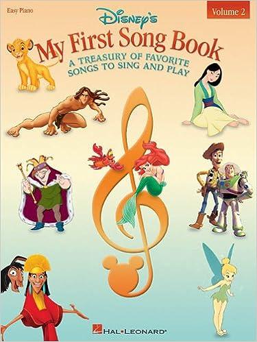 Amazon Com Disney S My First Songbook Volume 2 0073999160857