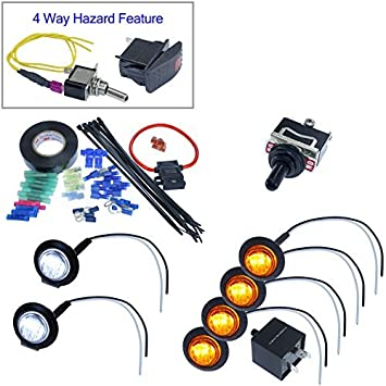 turn signal kits (install kit \u0026 no horn, toggle switch) How To Wire Turn Signals To A Toggle Switch turn signal toggle switch jegs
