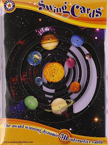 Boston International Santoro Solar System 3-D Interactive Swing Greeting ()