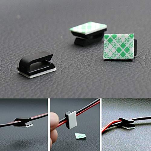 Clip autoadhesivo para cable de datos de coche SUV GPS: Amazon.es ...