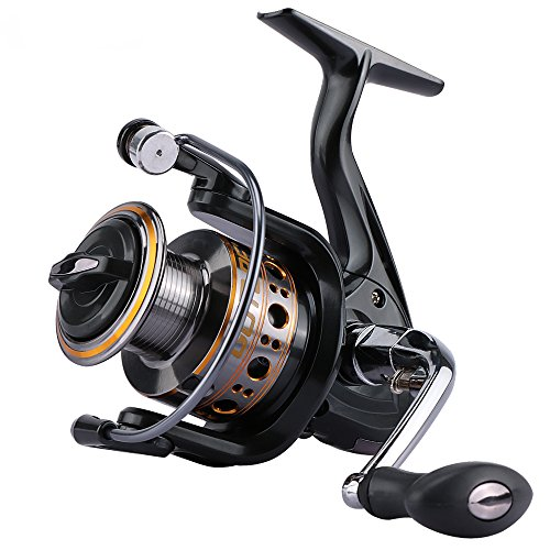 Goture Ultralight Spinning Reel Smooth Fishing Reel With Metal Spool Freshwater Saltwater GT-V Series Up to 22 LB Drag