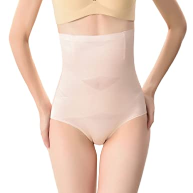 0590f27edc GladiolusA Women s Shapewear Underwear Thong Panty Tummy Control Panties  Body Shaper High Waist Knickers Nude 2XL  Amazon.co.uk  Clothing