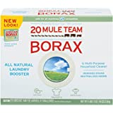 20 Mule Team Borax Laundry Booster, 76 Ounce (Pack of 4)