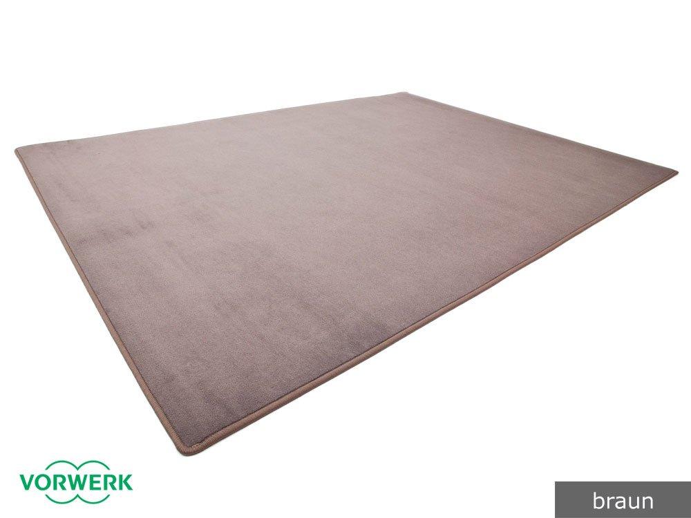 Vorwerk Bijou braun der HEVO® Spielteppich nicht nur für Kinder 200x500 cm