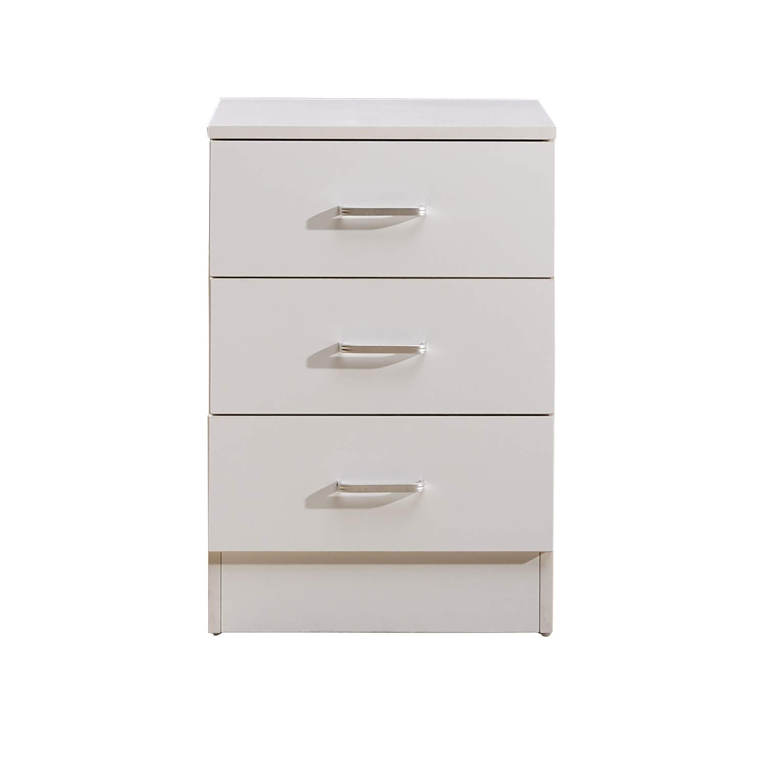 Amazon com greenforest vertical file cabinet 3 drawers wood for home office file storage under desk letter size a4 white office products