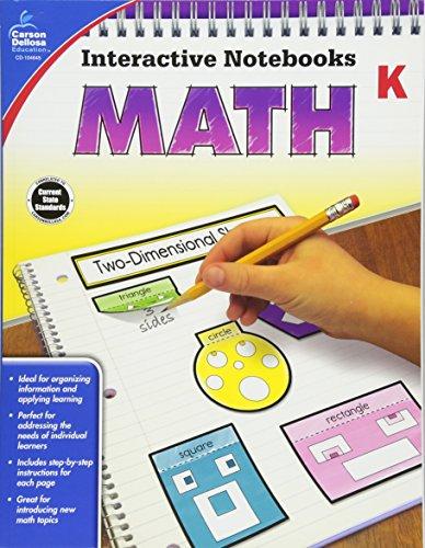 Math, Grade K (Interactive Notebooks)