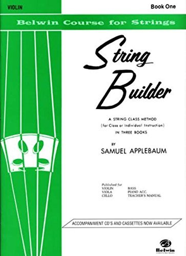 Belwin Course (String Builder  Violin Book One (Belwin Course for Strings))
