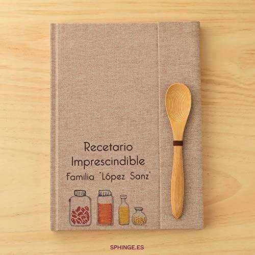 Sphinge - Recetario en blanco personalizado | Libro de