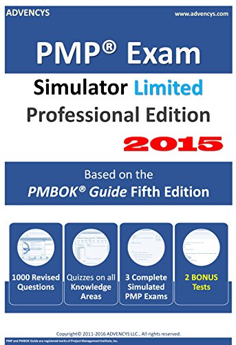 PMP Exam Simulator Limited Professional Edition 2015 [Download] (Edition Portfolio Limited)