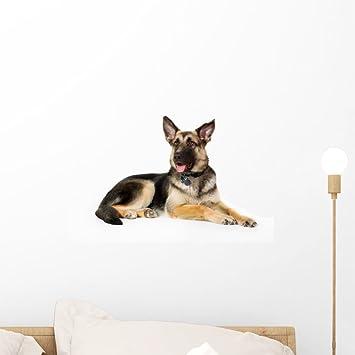 Cute German Shepherd Wall Decal