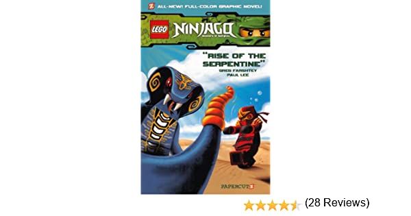 Ninjago Masters of the Spinjitzu 3: Rise of the Serpentine: Amazon.es: Farshtey, Greg, Lee, Paul: Libros en idiomas extranjeros