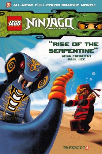 Read Online Rise Of The Serpentine (Turtleback School & Library Binding Edition) (Ninjago Graphic Novels) ebook