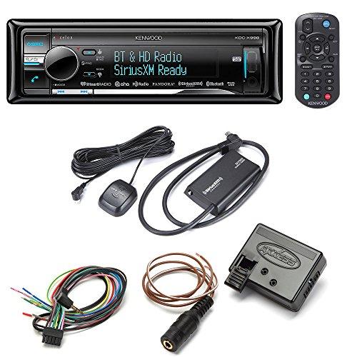 [Kenwood Excelon KDC-X998 CD receive + SiriusXM SXV300V1 Satellite Tuner + Axxess ASWC-1 Steering Wheel Control Adapter] (Kenwood Sirius Satellite Tuner)
