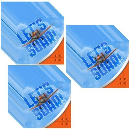 planes beverage napkins - 1
