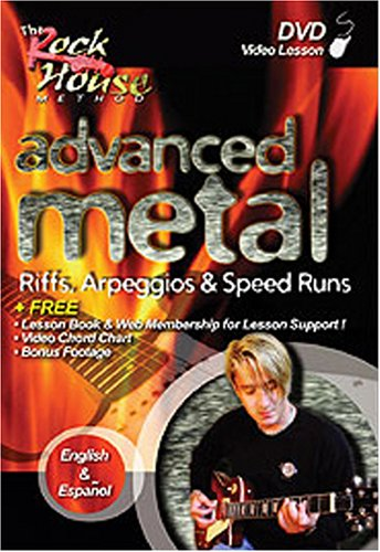 Rock House Metal Guitar - Rock House: Advanced Metal - Riffs, Arpeggios & Speed Runs