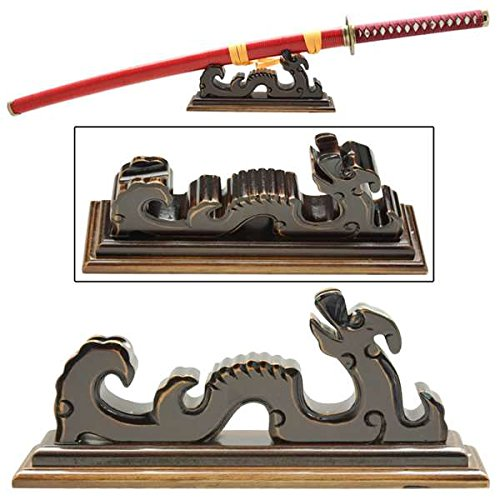 Celestial Dragon Table Top Katana Stand (Display Sword Tabletop)