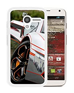 Silver Lamborghini Aventador Lp (2) Durable High Quality Motorola Moto X Phone Case