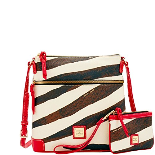 (Dooney & Bourke Serengeti Crossbody & Medium Wristlet Shoulder Bag )