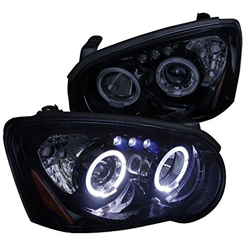 Spec-D Tuning 2LHP-WRX05G-TM Black Projector Headlight (Smoked Lens Gloss Housing)