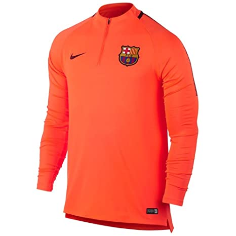 fe9628c6e Amazon.com   Nike Youth Dry FC Barcelona Squad Top  Hyper Crimson ...