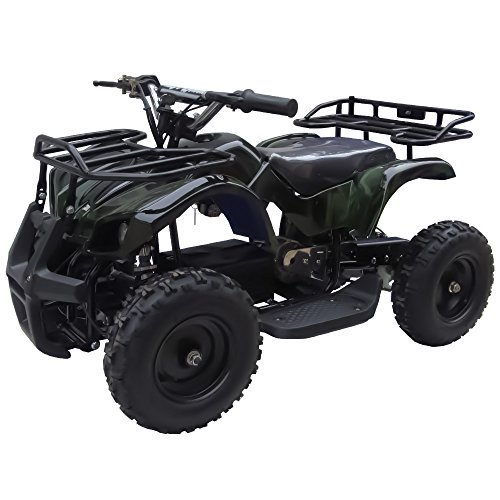 Sonora 350W 24V Electric Ride-On ATV for Kids, Green Camo (Chopper Kids Mini)