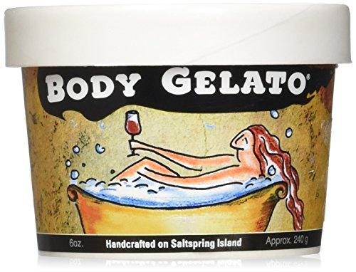 Saltspring Soapworks Body Gelato Yummy Scrubs, Vanilla Musk, 8.5 Ounce
