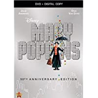 Mary Poppins: 50th Anniversary Edition [DVD + Digital Copy] (Bilingual)
