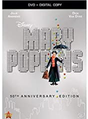 """Released from the Disney Vault in celebration of its 50th Anniversary, this beloved classic shines on DVD with an all-new restoration. Winner of five Academy Awards, including Best Actress (Julie Andrews), Best Song (""""Chim Chim Cher-ee"""") and ..."""