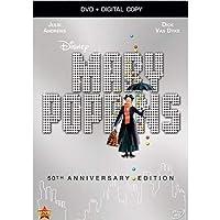 Mary Poppins: 50th Anniversary Edition (DVD + Digital Copy) [Importado]