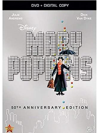Amazon com: Mary Poppins: 50th Anniversary Edition (DVD +