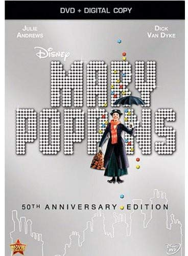 Disney 50th Anniversary - Mary Poppins: 50th Anniversary Edition (DVD + Digital Copy)