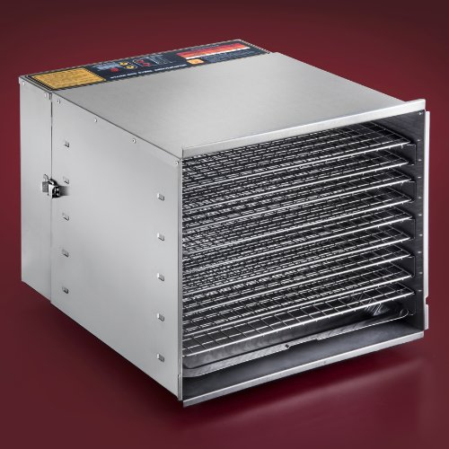 STX INTERNATIONAL  Dehydra STX-DEH-1200W-XLS 10-Tray Food Dehydrator