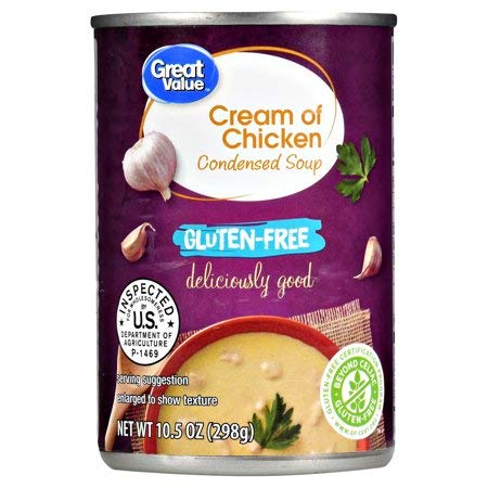 Gluten Free Cream of Chicken Condensed Soup, 10.5 oz, Pack of ()