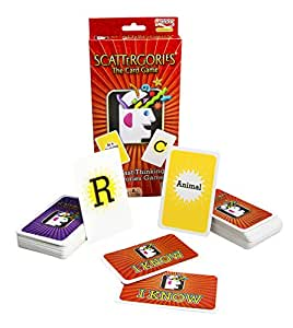 Scattergories The Card Game - Your Favorite Categories Game Meets Slap Jack - For At Home, On a Road Trip, or Vacation - 2 or More Players - Ages 8 and Up