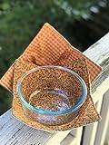 Set of 2 - Microwave Bowl Cozy - Microwave Bowl Cozy - Bowl Cozy - Bowl Cozie - Bowl Cosie - Quilted Bowl Cozy - Soup Bowl Cozy - Soup Bowl Holder - Microwave Bowl Holder - Microwave Potholder
