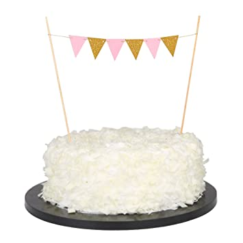 Sunny Zx Happy Birthday Cake Topper Cake Bunting Banner Garland