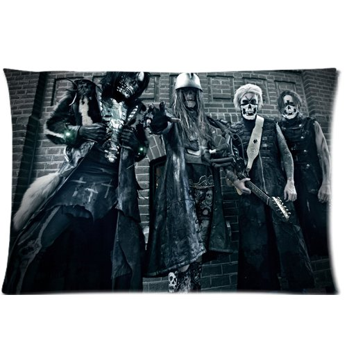 "Rob Zombie Band Custom Zippered Pillow Cases 20""x 30"""