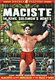 Maciste Double Feature: Maciste In King Solomon's Mines (1964) / Maciste Against Hercules in the Vale of Woe (1961)