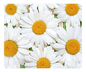 Flower fashion oblong mouse pad by Cases & Mousepads