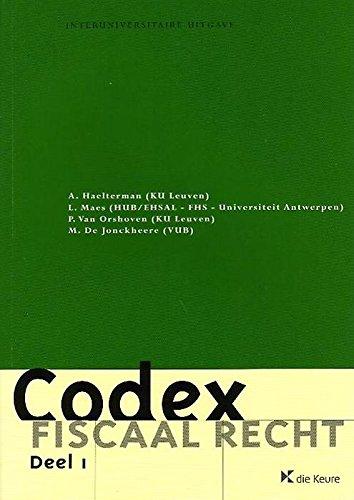 CODEX FISCAAL RECHT 2014-2015 A. HAELTERMAN
