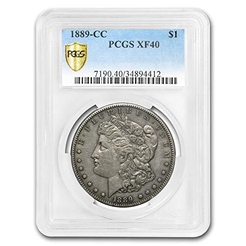 1889 CC Morgan Dollar XF-40 PCGS Dollar XF-40 PCGS
