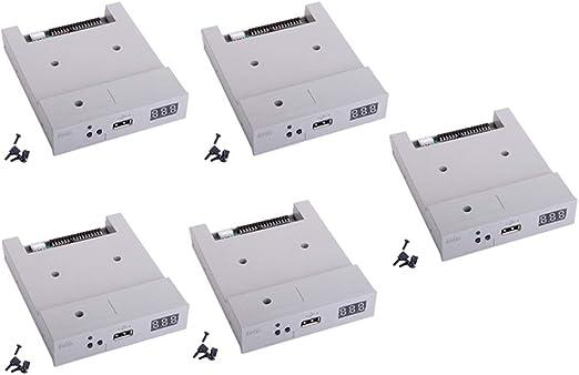 Sharplace 5 Piezas Emulador de Unidad Disquete Versión Actualizada SFR1M44-U100 USB