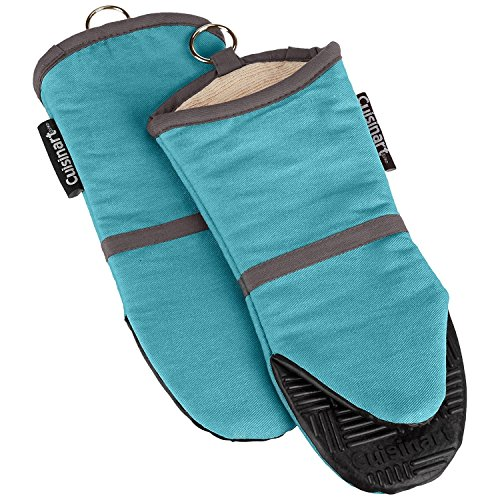 Cuisinart Oven Mitt with Non-Slip Silicone Grip, Heat Resist