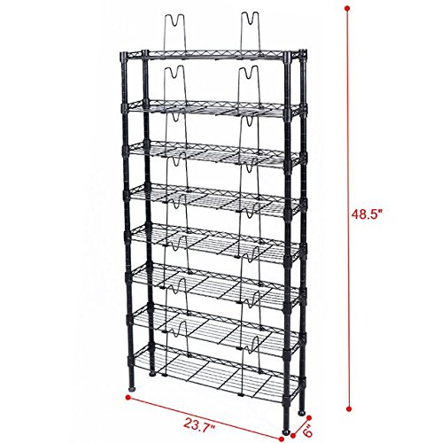 Multimedia Cabinet Games Holder DVD Media CD Rack Storage Organizer Tower Shelf + eBook from eXXtra Store