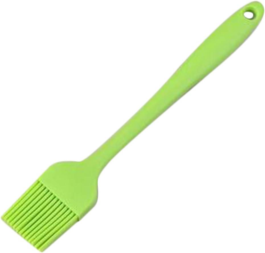 Namgiy Pinceau de cuisson en silicone pour p/âtisserie et barbecue 21 cm 21cm Vert couleur al/éatoire